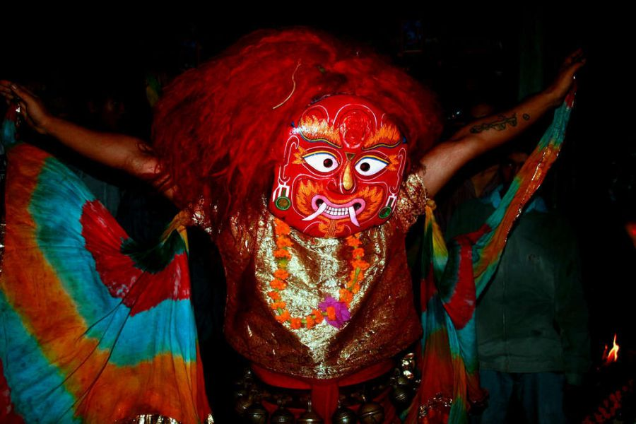 Lakhe Dance (August-September)