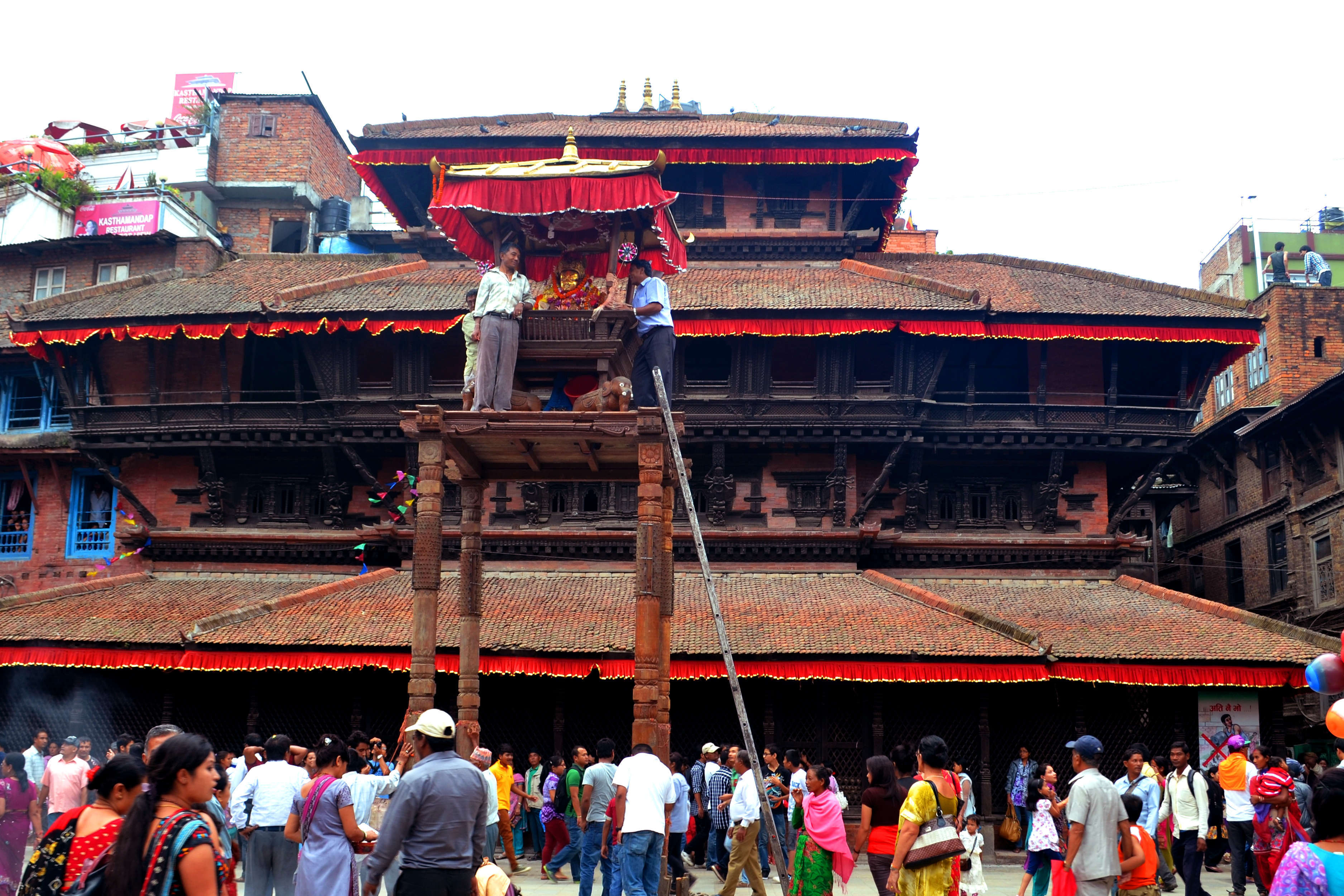 Indra Jatra (August-September)